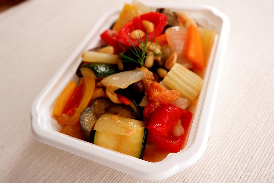 初夏野菜のカポナータ