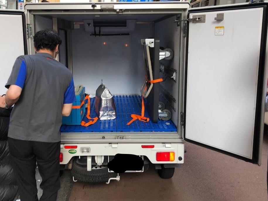 (近日中)冷蔵車でのご配送を開始!